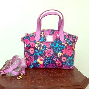 New Dooney and Bourke Small Floral Ruby Bag